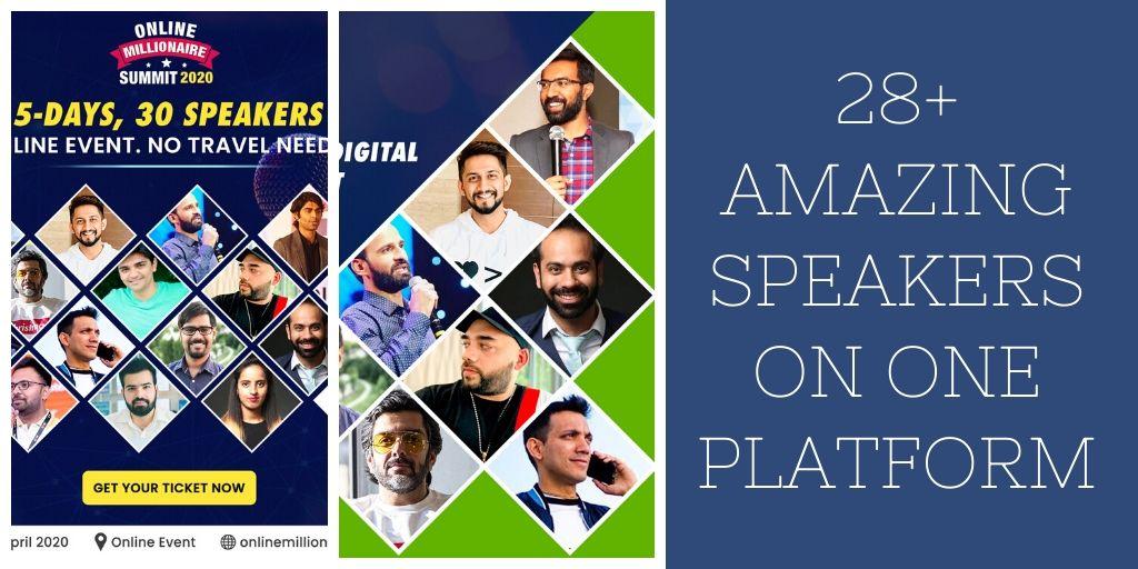 Online Millionaire Summit – 2020 India's Biggest Digital Marketing Online Event