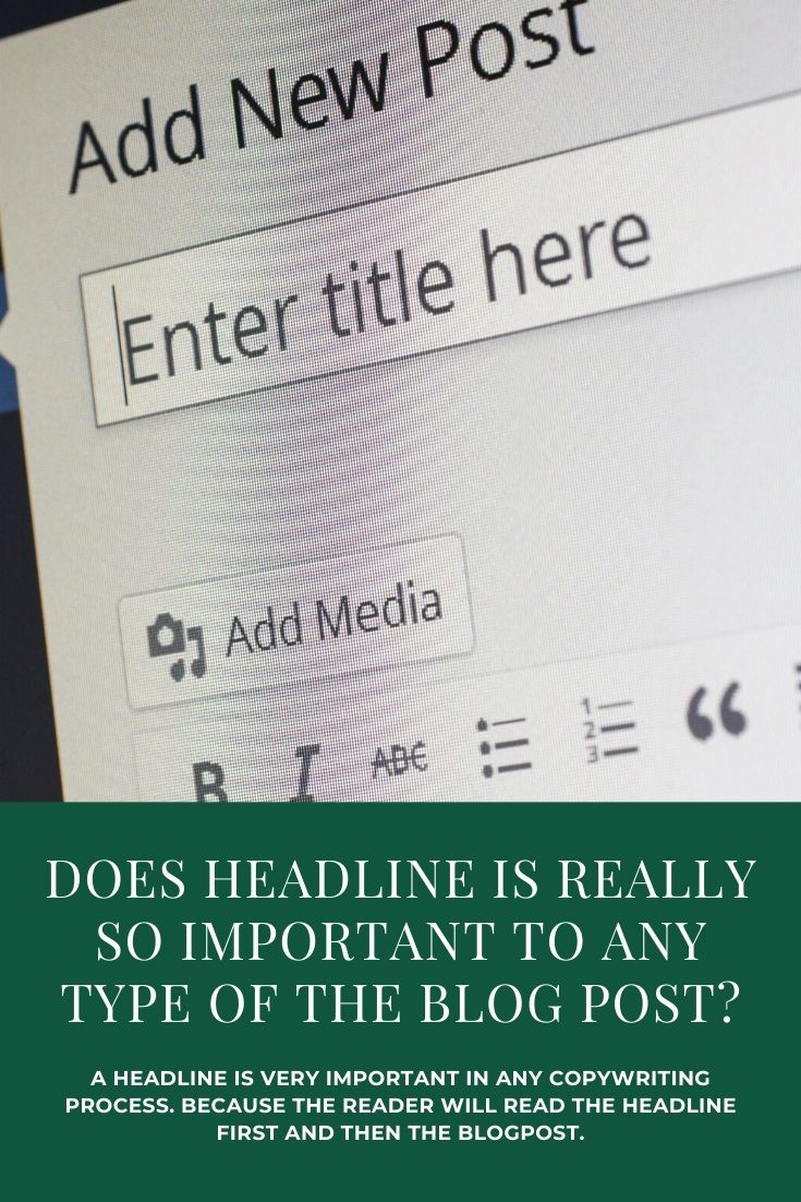 Why is an amazing headline so important for a blog post?
